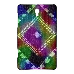 Embroidered Fabric Pattern Samsung Galaxy Tab S (8 4 ) Hardshell Case