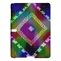 Embroidered Fabric Pattern Samsung Galaxy Tab S (10 5 ) Hardshell Case