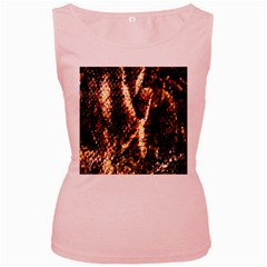 Fabric Yikes Texture Women s Pink Tank Top