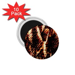 Fabric Yikes Texture 1.75  Magnets (10 pack)