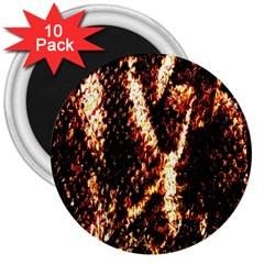 Fabric Yikes Texture 3  Magnets (10 pack)