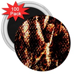 Fabric Yikes Texture 3  Magnets (100 pack)