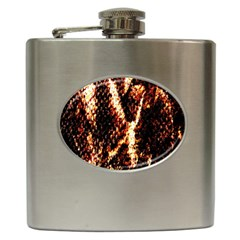 Fabric Yikes Texture Hip Flask (6 Oz)