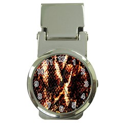Fabric Yikes Texture Money Clip Watches