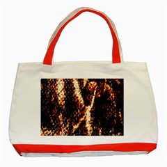 Fabric Yikes Texture Classic Tote Bag (Red)