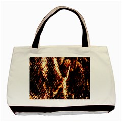 Fabric Yikes Texture Basic Tote Bag (Two Sides)
