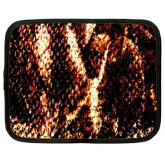 Fabric Yikes Texture Netbook Case (large)