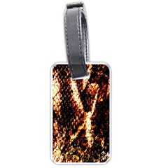 Fabric Yikes Texture Luggage Tags (One Side)