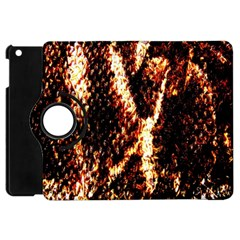 Fabric Yikes Texture Apple iPad Mini Flip 360 Case