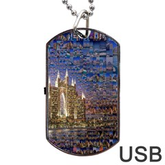 Dubai Dog Tag USB Flash (Two Sides)