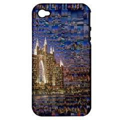 Dubai Apple Iphone 4/4s Hardshell Case (pc+silicone)