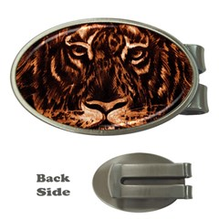Eye Of The Tiger Money Clips (Oval)