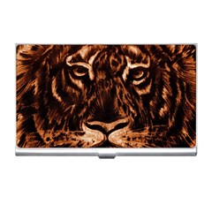 Eye Of The Tiger Business Card Holders