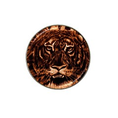 Eye Of The Tiger Hat Clip Ball Marker