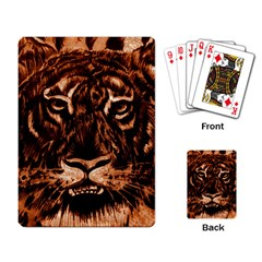 Eye Of The Tiger Playing Card