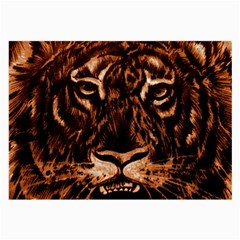 Eye Of The Tiger Large Glasses Cloth