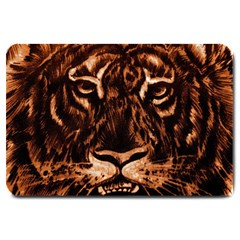 Eye Of The Tiger Large Doormat