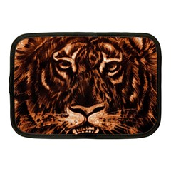 Eye Of The Tiger Netbook Case (Medium)