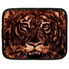 Eye Of The Tiger Netbook Case (Large)