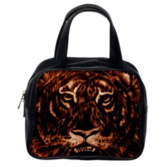 Eye Of The Tiger Classic Handbags (One Side)