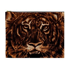 Eye Of The Tiger Cosmetic Bag (XL)
