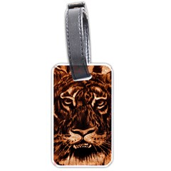 Eye Of The Tiger Luggage Tags (One Side)