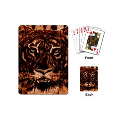 Eye Of The Tiger Playing Cards (mini)