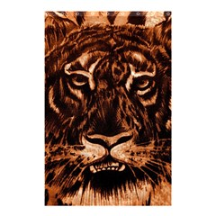 Eye Of The Tiger Shower Curtain 48  x 72  (Small)