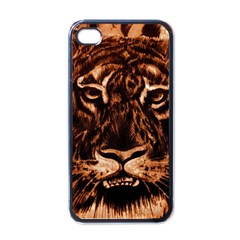 Eye Of The Tiger Apple iPhone 4 Case (Black)