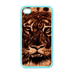 Eye Of The Tiger Apple iPhone 4 Case (Color)