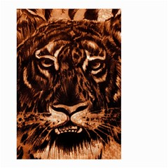 Eye Of The Tiger Small Garden Flag (two Sides)