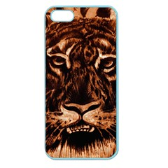 Eye Of The Tiger Apple Seamless Iphone 5 Case (color)