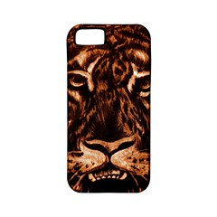 Eye Of The Tiger Apple Iphone 5 Classic Hardshell Case (pc+silicone)