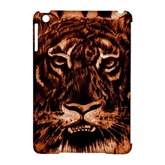 Eye Of The Tiger Apple iPad Mini Hardshell Case (Compatible with Smart Cover)