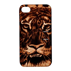 Eye Of The Tiger Apple iPhone 4/4S Hardshell Case with Stand