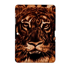 Eye Of The Tiger Samsung Galaxy Tab 2 (10 1 ) P5100 Hardshell Case