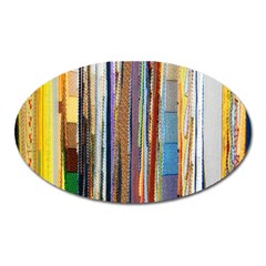 Fabric Oval Magnet