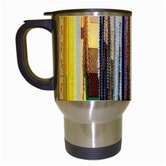 Fabric Travel Mugs (white)