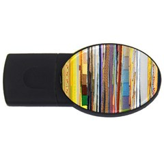 Fabric USB Flash Drive Oval (4 GB)