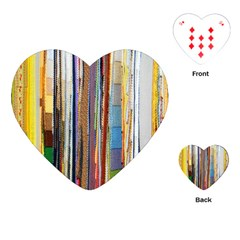 Fabric Playing Cards (Heart)