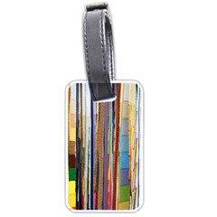 Fabric Luggage Tags (Two Sides)