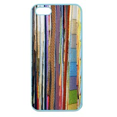 Fabric Apple Seamless Iphone 5 Case (color)