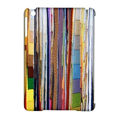 Fabric Apple Ipad Mini Hardshell Case (compatible With Smart Cover)