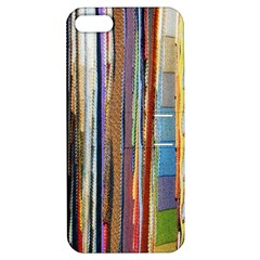 Fabric Apple Iphone 5 Hardshell Case With Stand