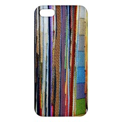 Fabric Apple Iphone 5 Premium Hardshell Case