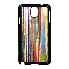 Fabric Samsung Galaxy Note 3 Neo Hardshell Case (black)