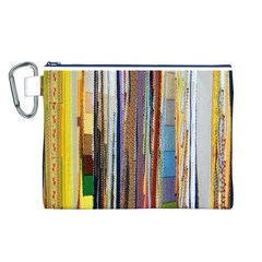 Fabric Canvas Cosmetic Bag (L)