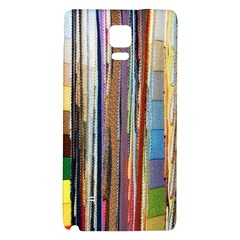 Fabric Galaxy Note 4 Back Case