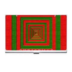 Fabric 3d Merry Christmas Business Card Holders