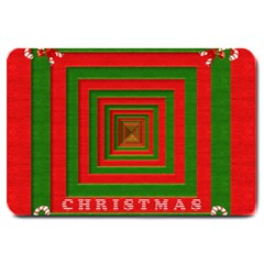Fabric 3d Merry Christmas Large Doormat